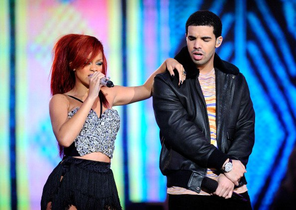 Rihanna, Drake, & Kanye West Perform At NBA All-Star Game